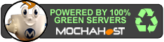 This Site is Powered by 100% Green Servers